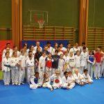 Träningsläget i taekwondo.